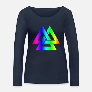 Wotan Wotan colorful - Women's Organic Longsleeve Shirt