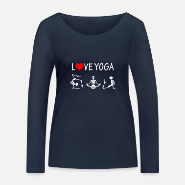 Yoga - Love - Sport - Gift - Rest - Saying - Women's Organic Longsleeve Shirt