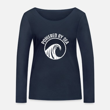 Sea Powered by Sea - Women's Organic Longsleeve Shirt