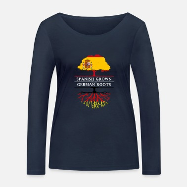 Spanish Spanish Grown with German Roots - Women's Organic Longsleeve Shirt