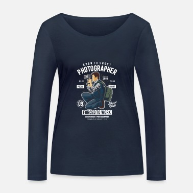 Photographer - Women's Organic Longsleeve Shirt