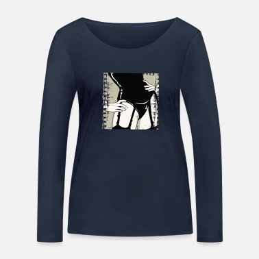 Mänlich Girlfriend - Women's Organic Longsleeve Shirt