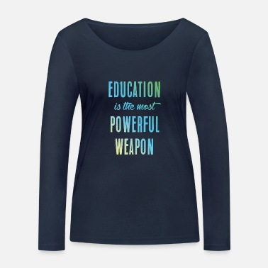 Education-culture Education || education - Women's Organic Longsleeve Shirt