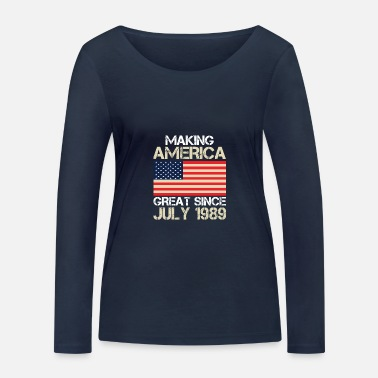 Independance Day Independence Day - Women's Organic Longsleeve Shirt