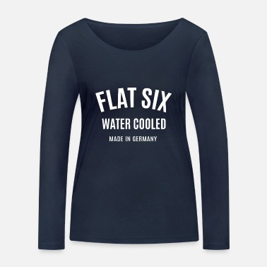 Stuttgart Flat Six - Water Cooled - Made in Germany - Boxerm - Women's Organic Longsleeve Shirt