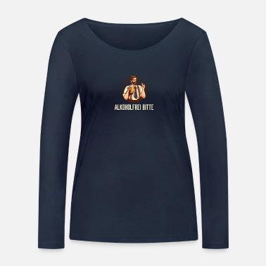 Alcohol Alcohol-free beer - dry - anti-alcoholic - Women's Organic Longsleeve Shirt