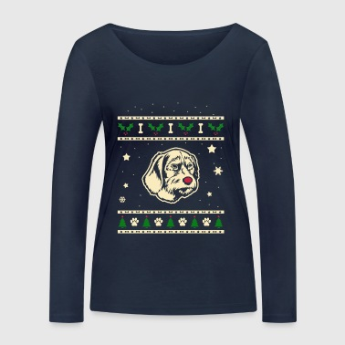 Poodle Pod Christmas Gift - Women's Organic Longsleeve Shirt by Stanley & Stella