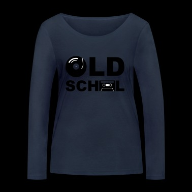 Old School - T-shirt manches longues bio Stanley & Stella Femme
