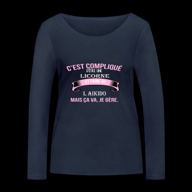 l aikido - T-shirt manches longues bio Stanley & Stella Femme