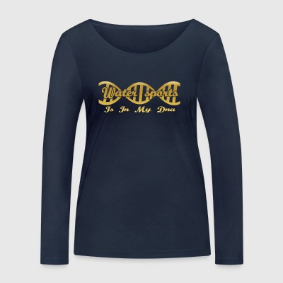 Dna dns evolution hobby gift Water sports - Women's Organic Longsleeve Shirt by Stanley & Stella