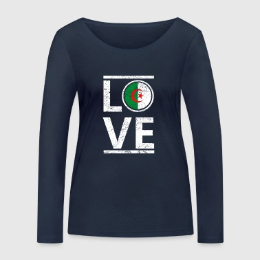 roots love home origin queen algeria - Women's Organic Longsleeve Shirt by Stanley & Stella