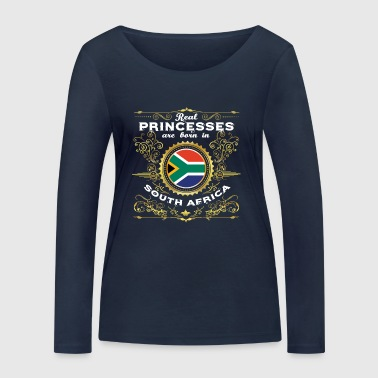 PRINCESS PRINCESS QUEEN BORN SOUTH AFRICA - Women's Organic Longsleeve Shirt by Stanley & Stella