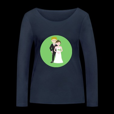 mariage - T-shirt manches longues bio Stanley & Stella Femme