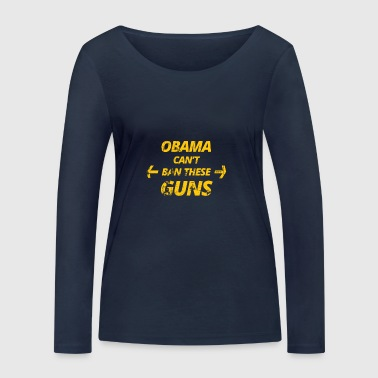 obama - Women's Organic Longsleeve Shirt by Stanley & Stella