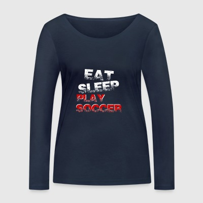 Funny funny saying Football Gift - Women's Organic Longsleeve Shirt by Stanley & Stella