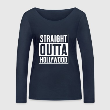 Straight Outta Hollywood - T-shirt manches longues bio Stanley & Stella Femme