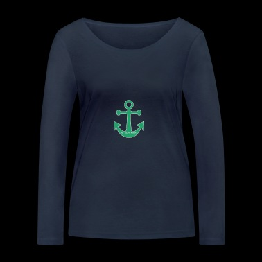 anchor - Women's Organic Longsleeve Shirt by Stanley & Stella