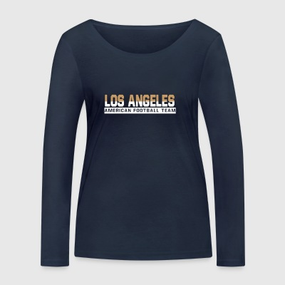 LA football - Women's Organic Longsleeve Shirt by Stanley & Stella