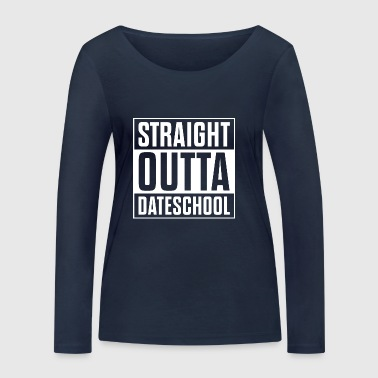 Straight outta data school - Women's Organic Longsleeve Shirt by Stanley & Stella
