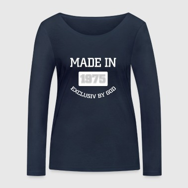 MADE IN 1975 EXCLUSIF PAR DIEU - T-shirt manches longues bio Stanley & Stella Femme