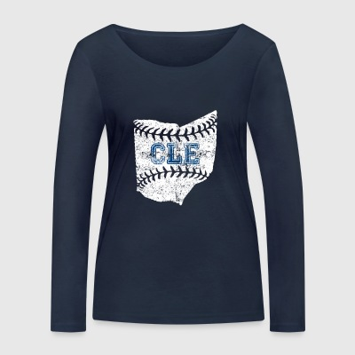 baseball Cleveland - T-shirt manches longues bio Stanley & Stella Femme
