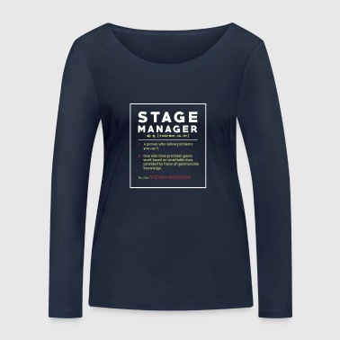 Stage Manager Tee Shirt Poison - Women's Organic Longsleeve Shirt by Stanley & Stella