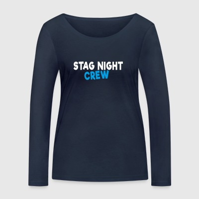 Stag Night Crew - Women's Organic Longsleeve Shirt by Stanley & Stella
