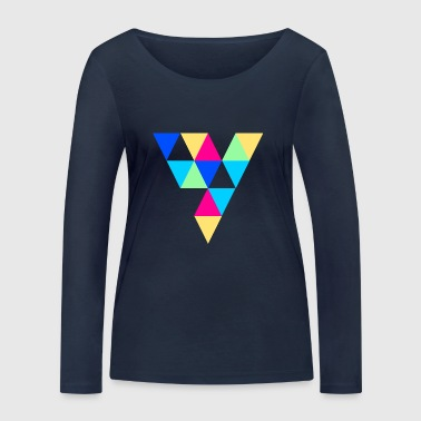 triangles - T-shirt manches longues bio Stanley & Stella Femme