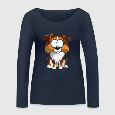 I Am Australian Shepherd Red Tricolore - Women's Organic Longsleeve Shirt by Stanley & Stella