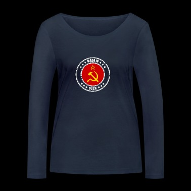 Made in USSR - Women's Organic Longsleeve Shirt by Stanley & Stella
