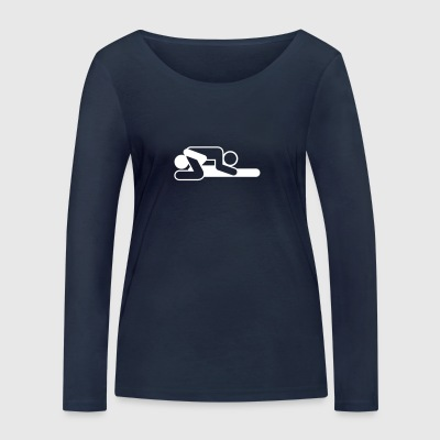 A Couple In 69 Position - Women's Organic Longsleeve Shirt by Stanley & Stella