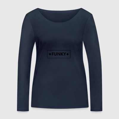 Black Frame Funky - T-shirt manches longues bio Stanley & Stella Femme