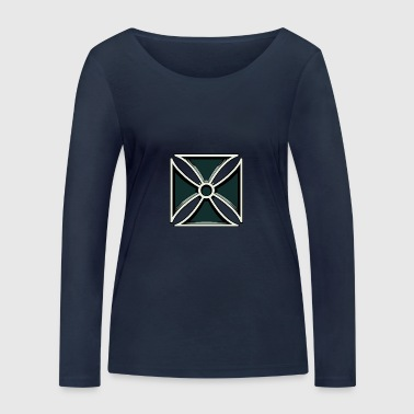 Iron Cross - Iron Cross - Women's Organic Longsleeve Shirt by Stanley & Stella
