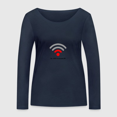 Pissed off - Women's Organic Longsleeve Shirt by Stanley & Stella