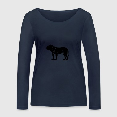 french bulldog - Women's Organic Longsleeve Shirt by Stanley & Stella