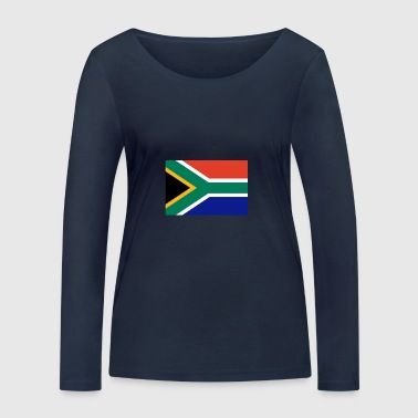 South Africa Flag - Women's Organic Longsleeve Shirt by Stanley & Stella