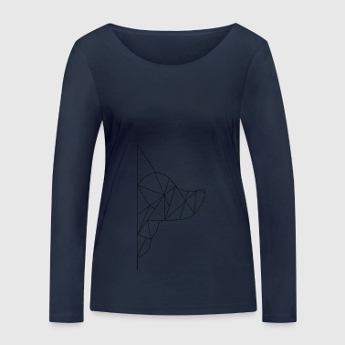Triangle-Dog - Women's Organic Longsleeve Shirt by Stanley & Stella