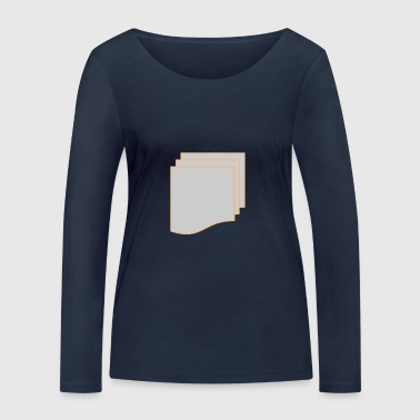 over and over - Women's Organic Longsleeve Shirt by Stanley & Stella