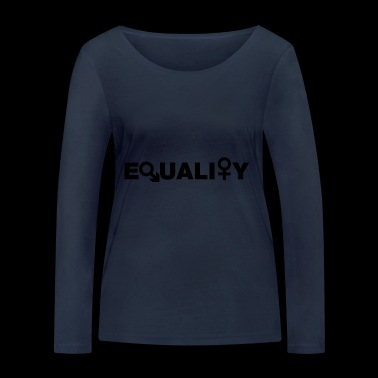 Equality - Women's Organic Longsleeve Shirt by Stanley & Stella