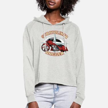 Stratoliner bagger 01 - Vrouwen Cropped Hoodie