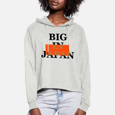 Programming big on the net + your blog etc - Women's Cropped Hoodie