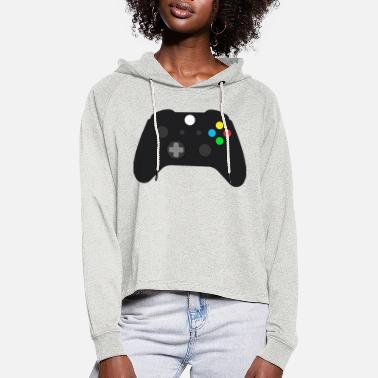 Controller controller - Frauen Cropped Hoodie