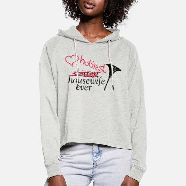 Housewife Housewife - Women's Cropped Hoodie