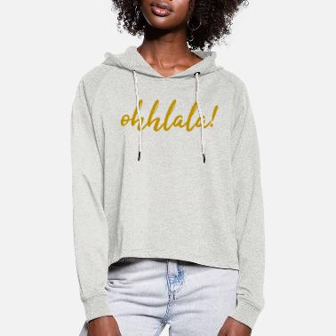 Cotton OHHLALA! - Women's Cropped Hoodie