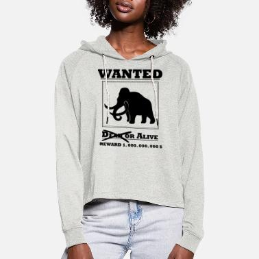 Wanted - Mammut - Frauen Cropped Hoodie