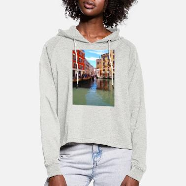 A piece of Venice - Italy - Women's Cropped Hoodie