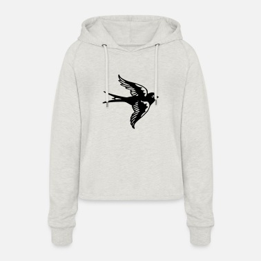 Sparrow Sparrow - Women's Cropped Hoodie