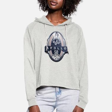 Apollo logo t-shirt - Cropped hoodie til damer