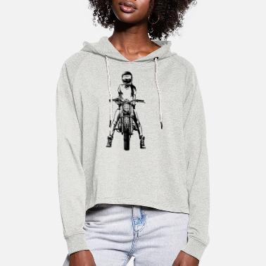 On the road - Women's Cropped Hoodie