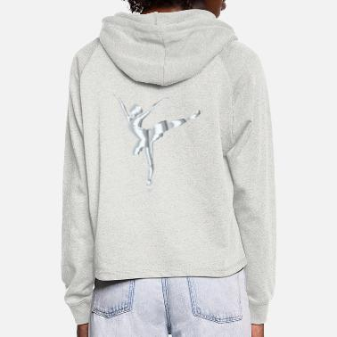 Ballet Dancer Be Classical - Women's Cropped Hoodie